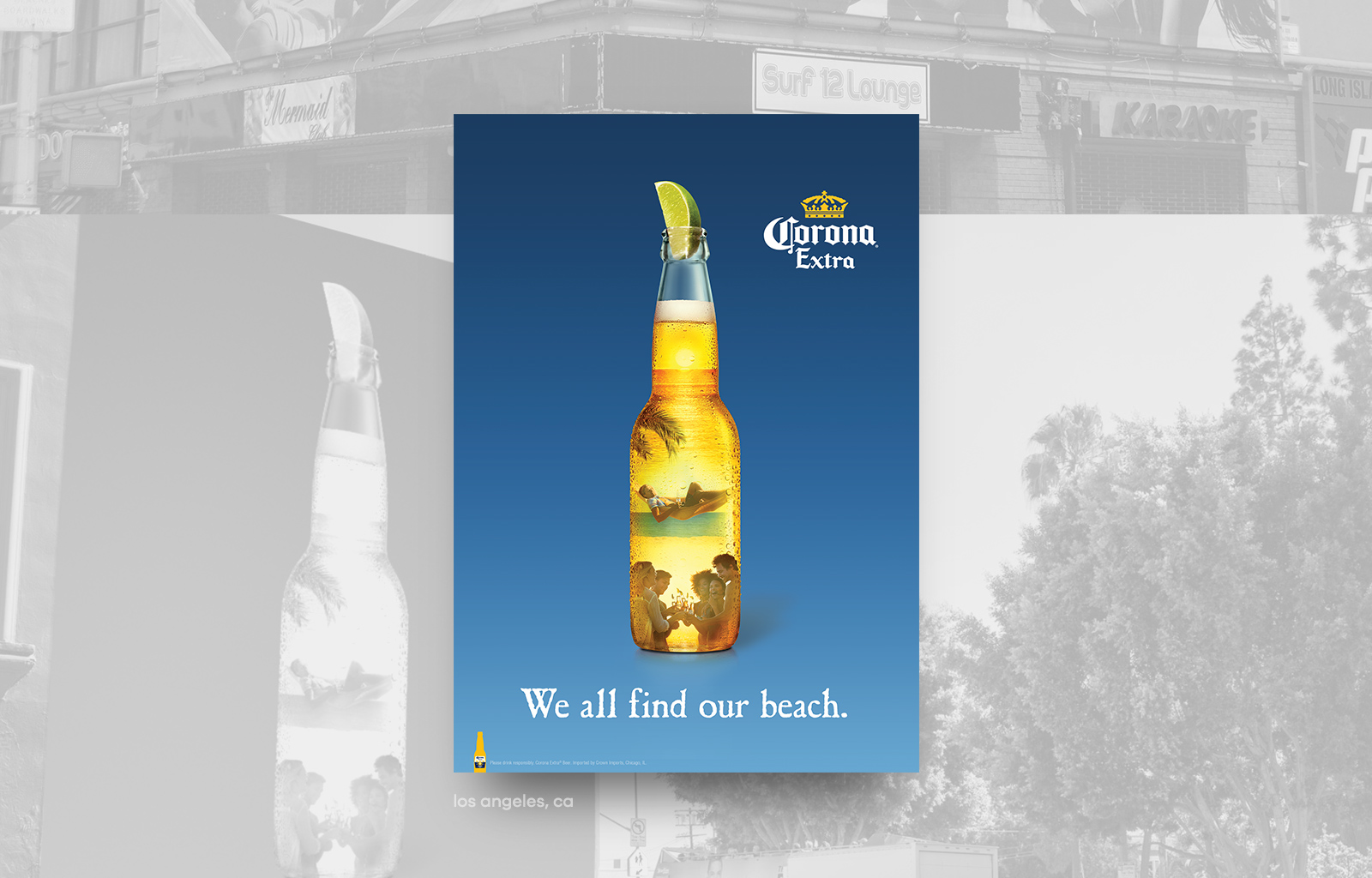 Corona Silhouette Billboard@1x